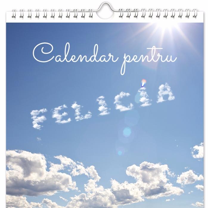 Calendar Personalizat Prima Editie