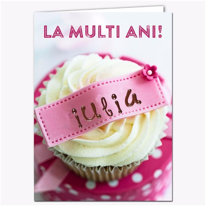 Felicitare Personalizata Cupcake
