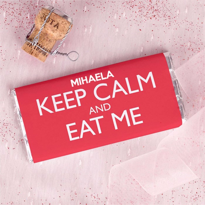 Ciocolata Personalizata Keep Calm