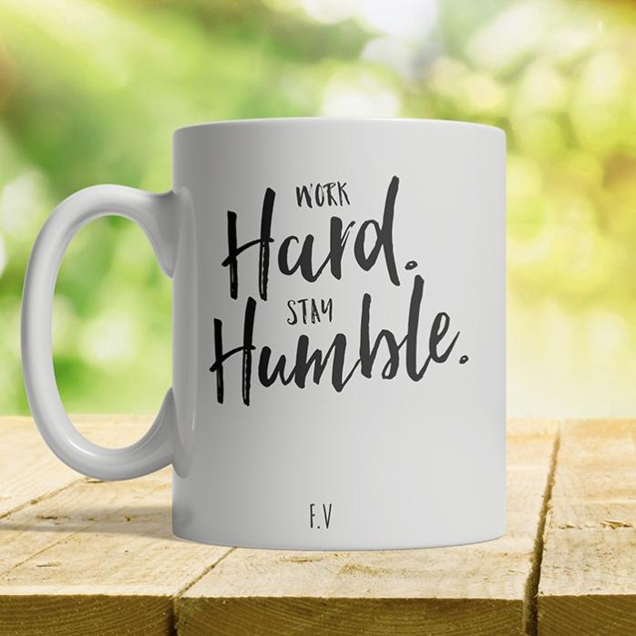 Cana Personalizata Stay Humble