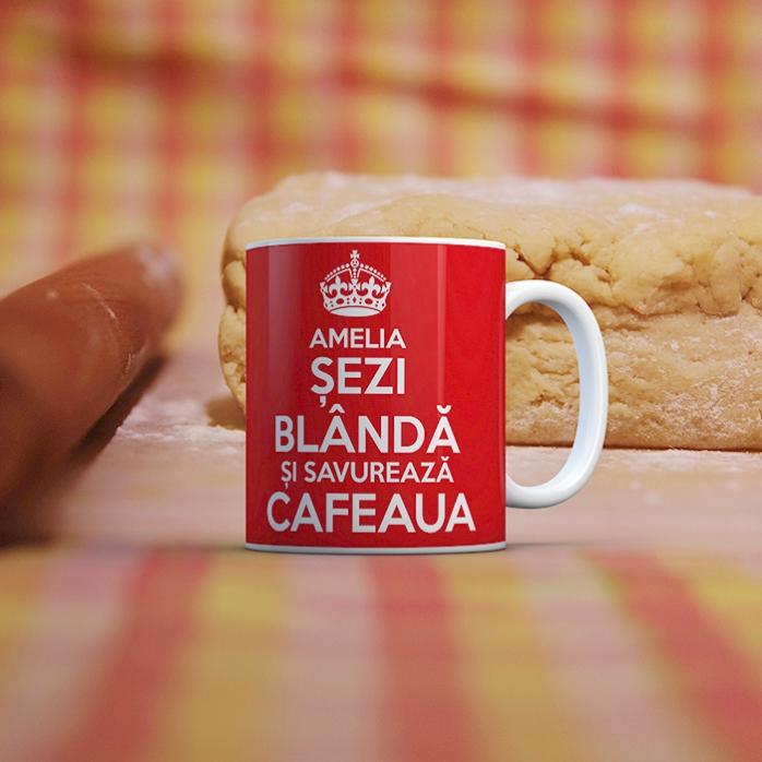 Cana Personalizata Keep Calm