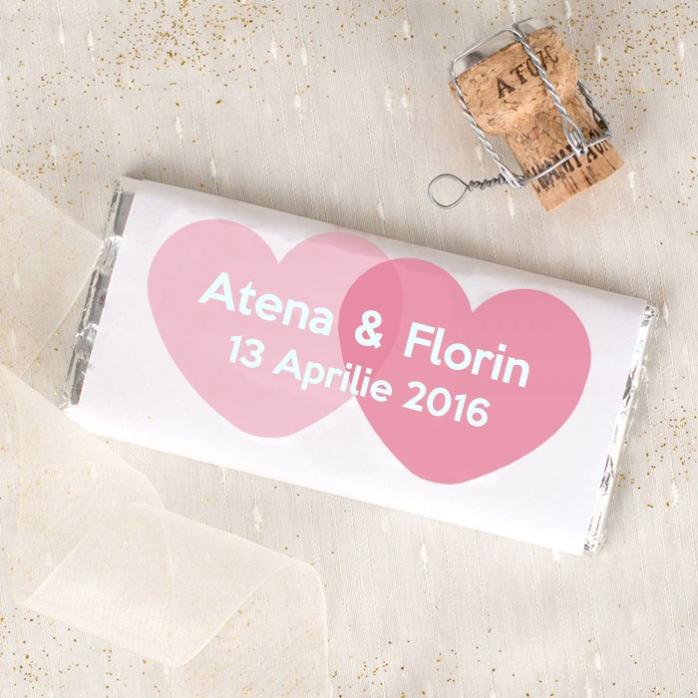 Ciocolata Personalizata Pentru Cuplu