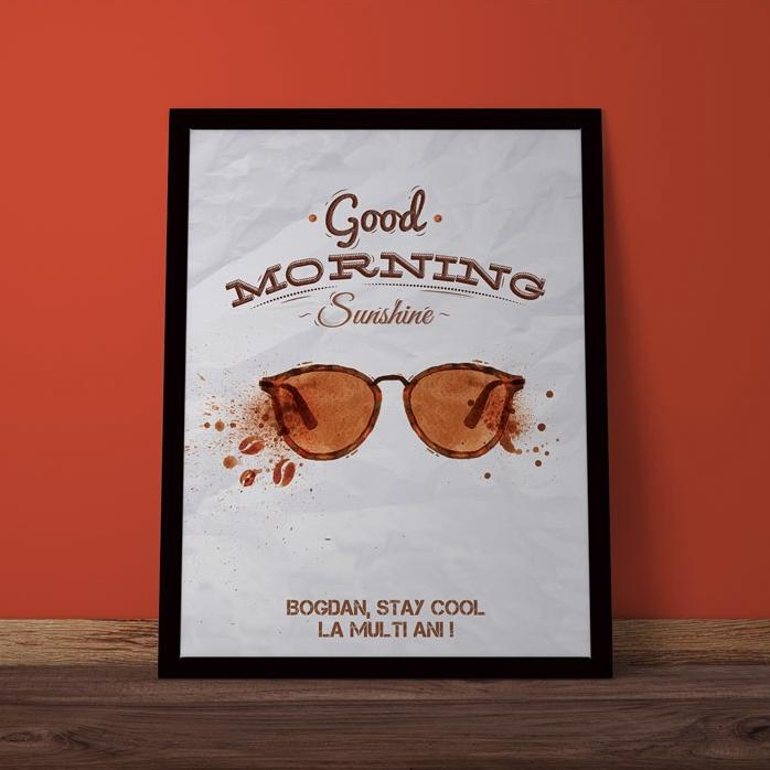 Tablou Personalizat Buna Dimineata