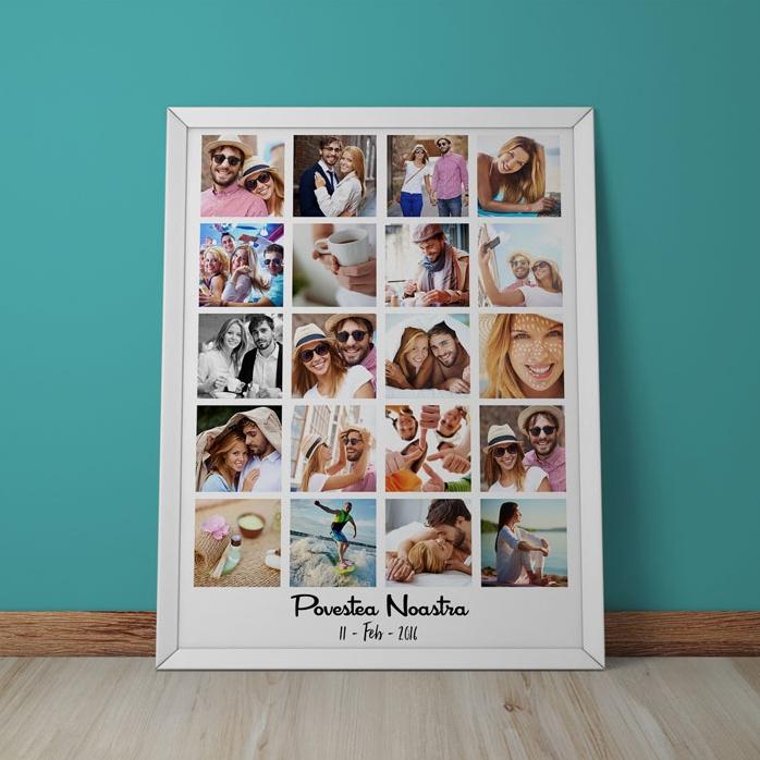 Tablou Personalizat Cu 20 De Poze